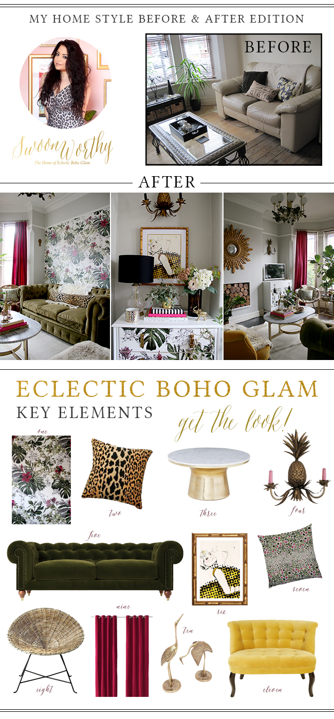 Get the look: Eclectic Boho Glam