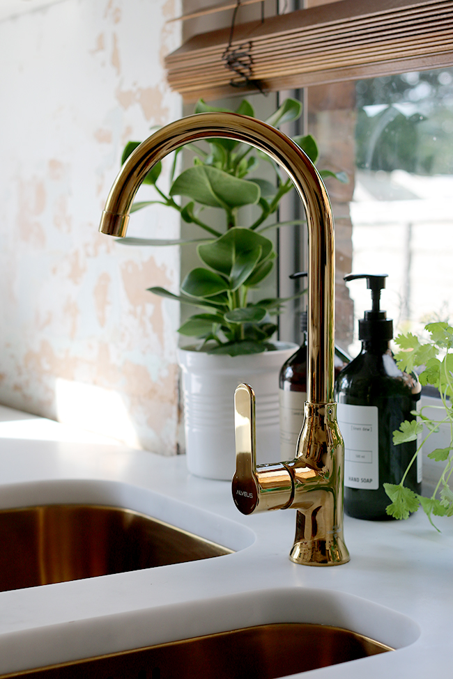 Gold Bathroom Sink Taps
