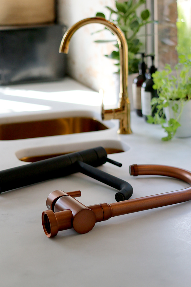In the market to update your kitchen taps and looking for something a little bit different? Check out the best source for gold, copper and black taps in the UK!