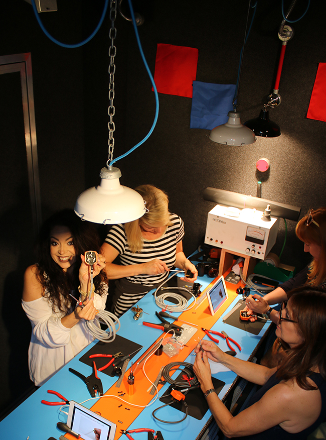 Factory Lux build your own light workshop