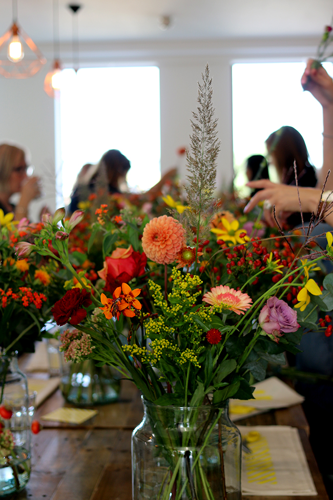 Houzz Bloomon Floral Workshop and Brunch