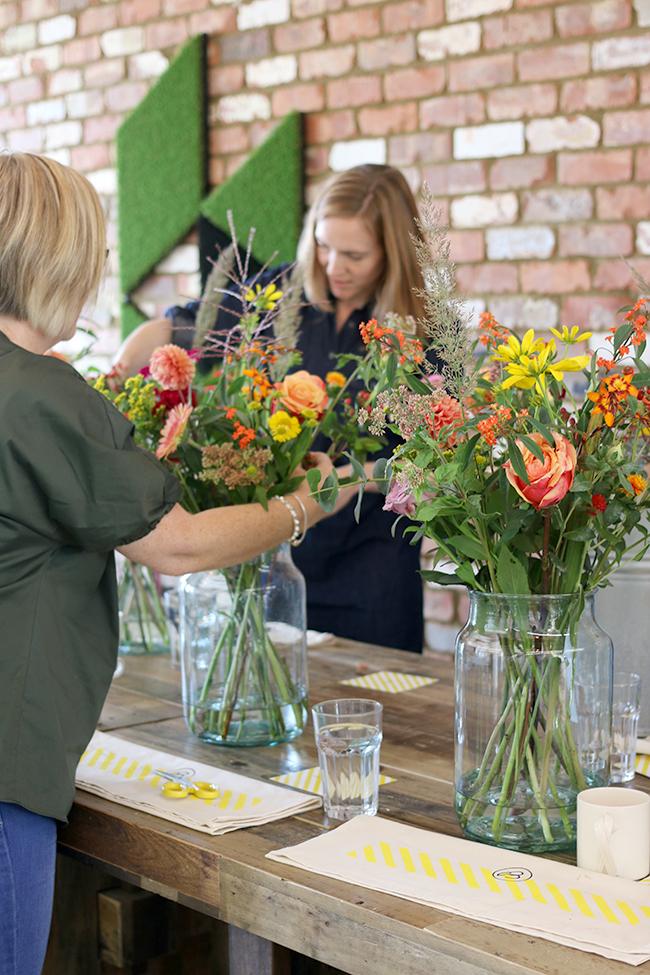 Houzz Bloomon Floral Workshop and Brunch