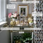 My Formula For Styling a Bar Cart
