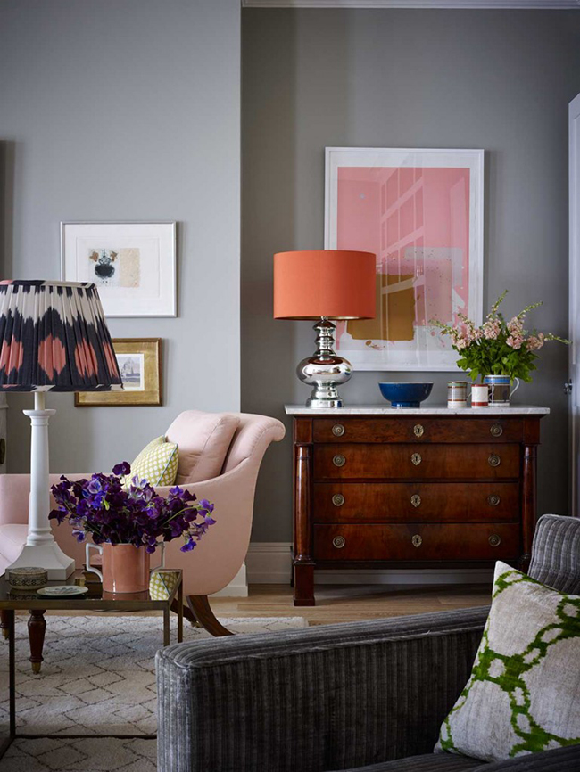 The Neo Trad / Design by Ben Pentreath - blush pink interior inspiration