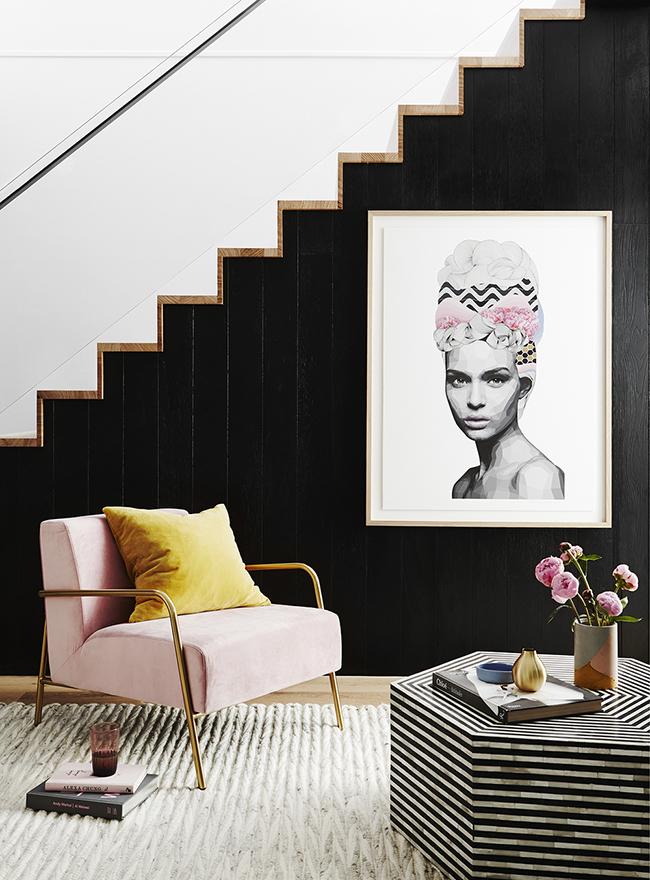 The Big Pink: Blush Pink Interior Inspiration