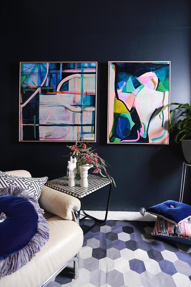 blush pink interior inspiration - Adore Magazine / Styling by Lucy Fenton / Photography by Jai Vasicek
