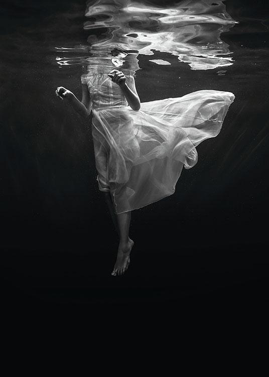 Black lake 50x70