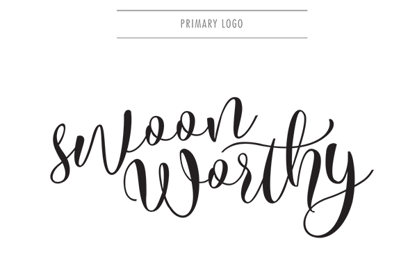 Swoon Worthy Brand Style Guide