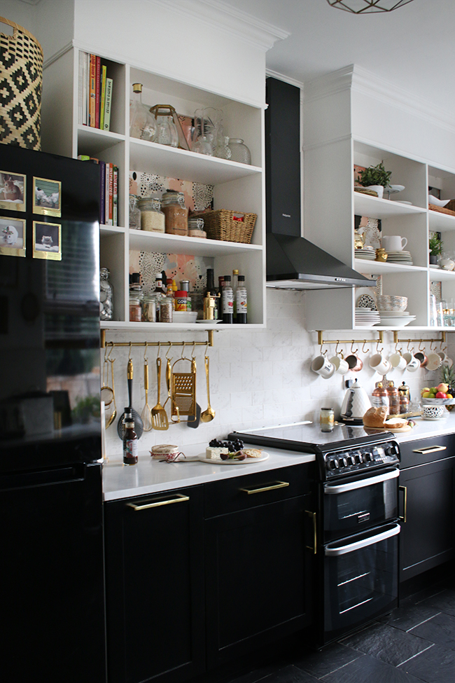 Looking to maximise storage in your small kitchen? Have you considered installing open shelving?