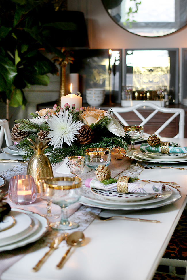How to Create a Glam Christmas Table Setting on a Budget! - Swoon Worthy. How To Create A Glam Christmas Table Setting On A Budget Swoon Worthy & Marvelous Christmas Table Settings On A Budget Contemporary - Best ...