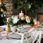 How to Create a Glam Christmas Table Setting on a Budget!