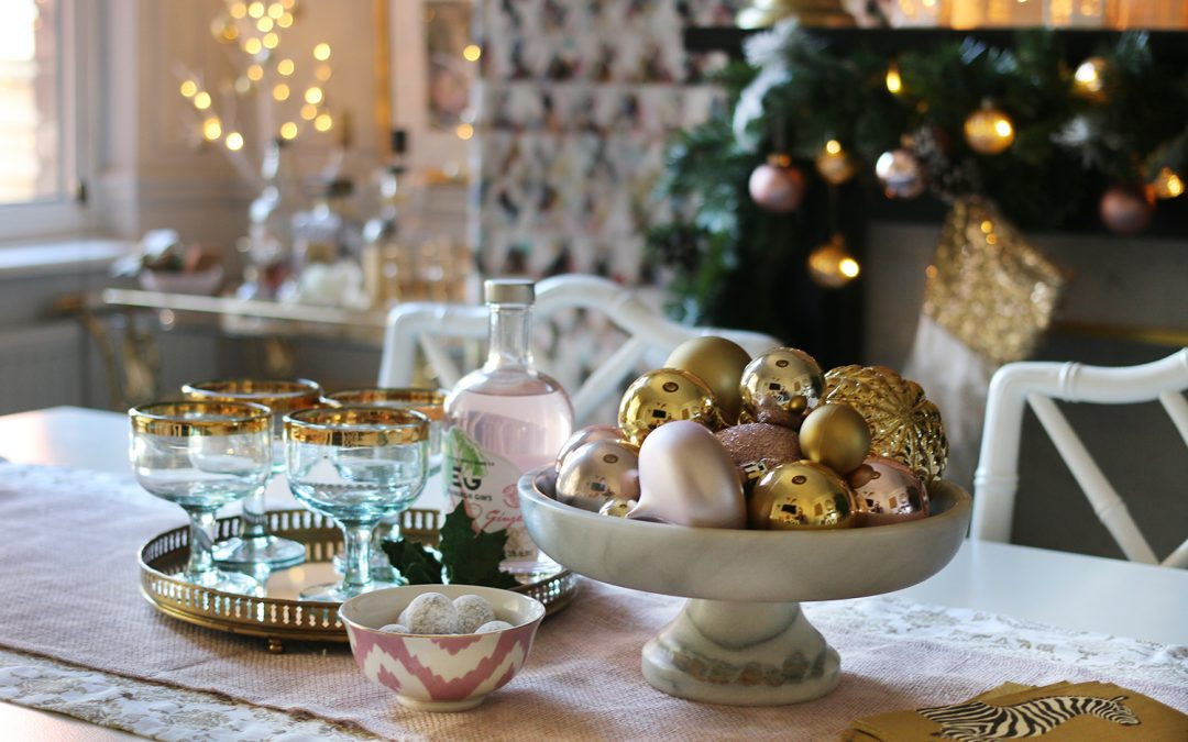 UK Home Blog Hop: My Christmas Dining Room