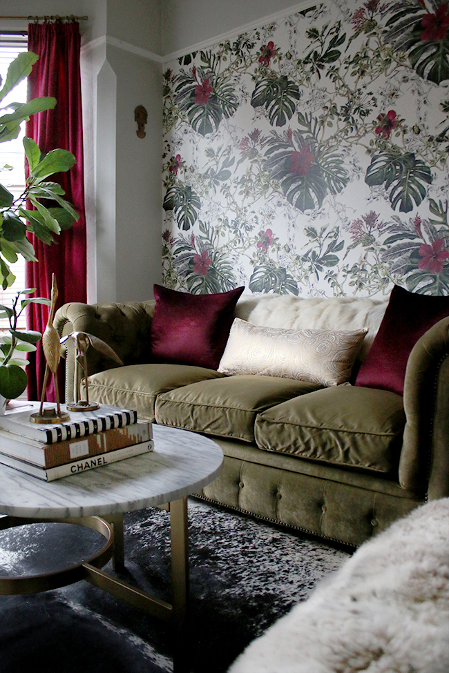 eclectic boho glam living room from swoon worthy blog www.swoonworthy.co.uk