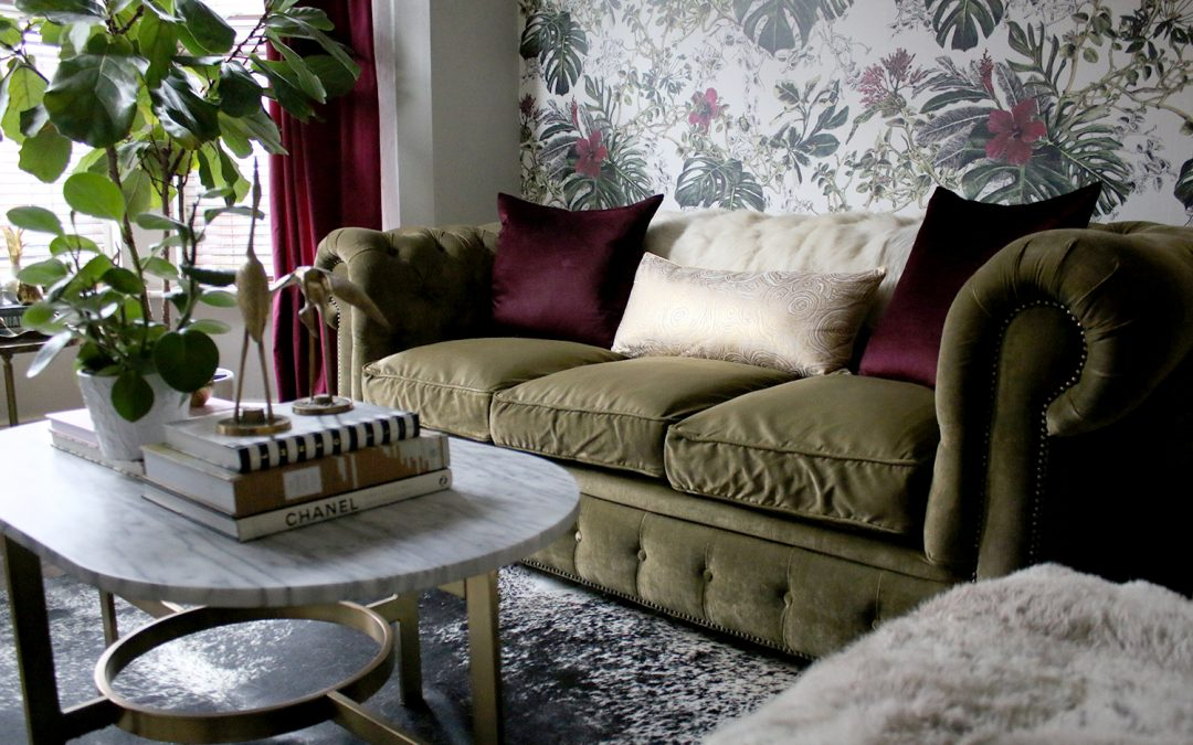 Winter Refresh in the Living Room