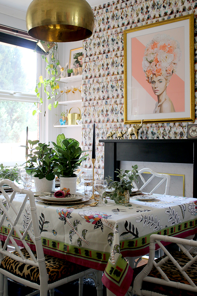 eclectic boho glam dining room from swoon worthy blog www.swoonworthy.co.uk