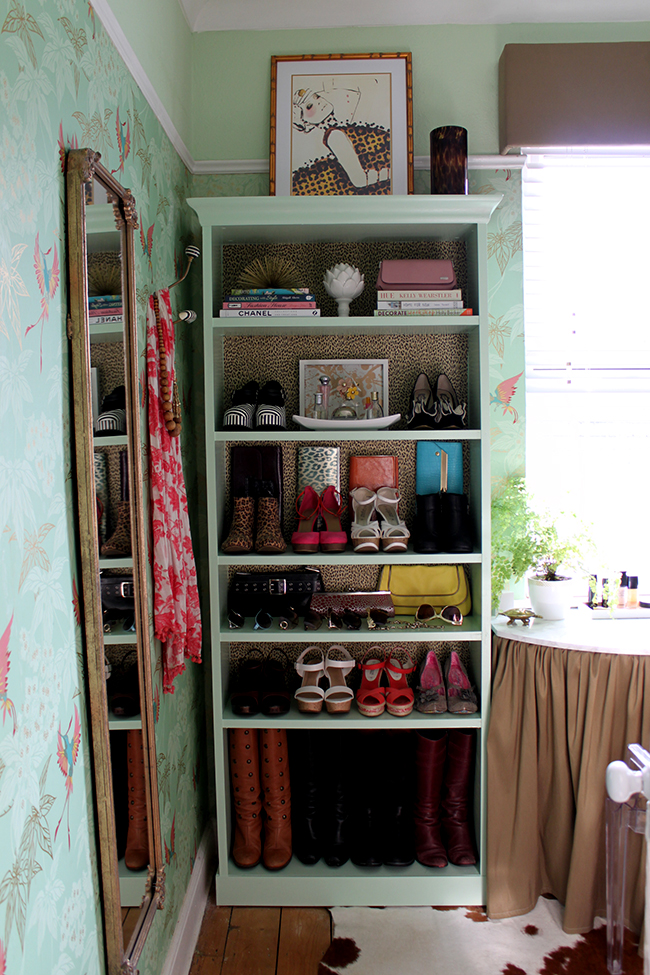 Ikea Billy Bookcase Hack via Swoon Worthy