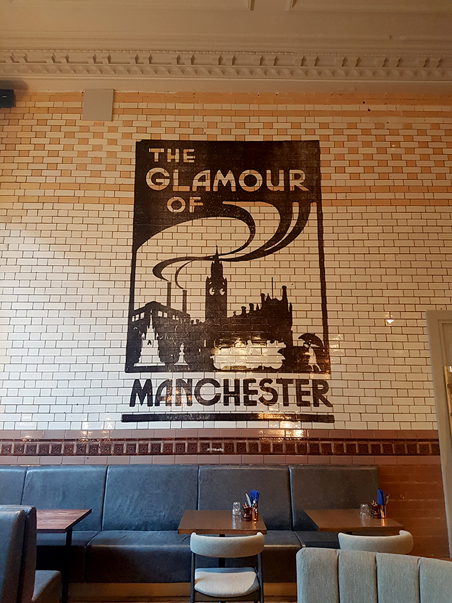 Refuge Volta Manchester dining room glamour