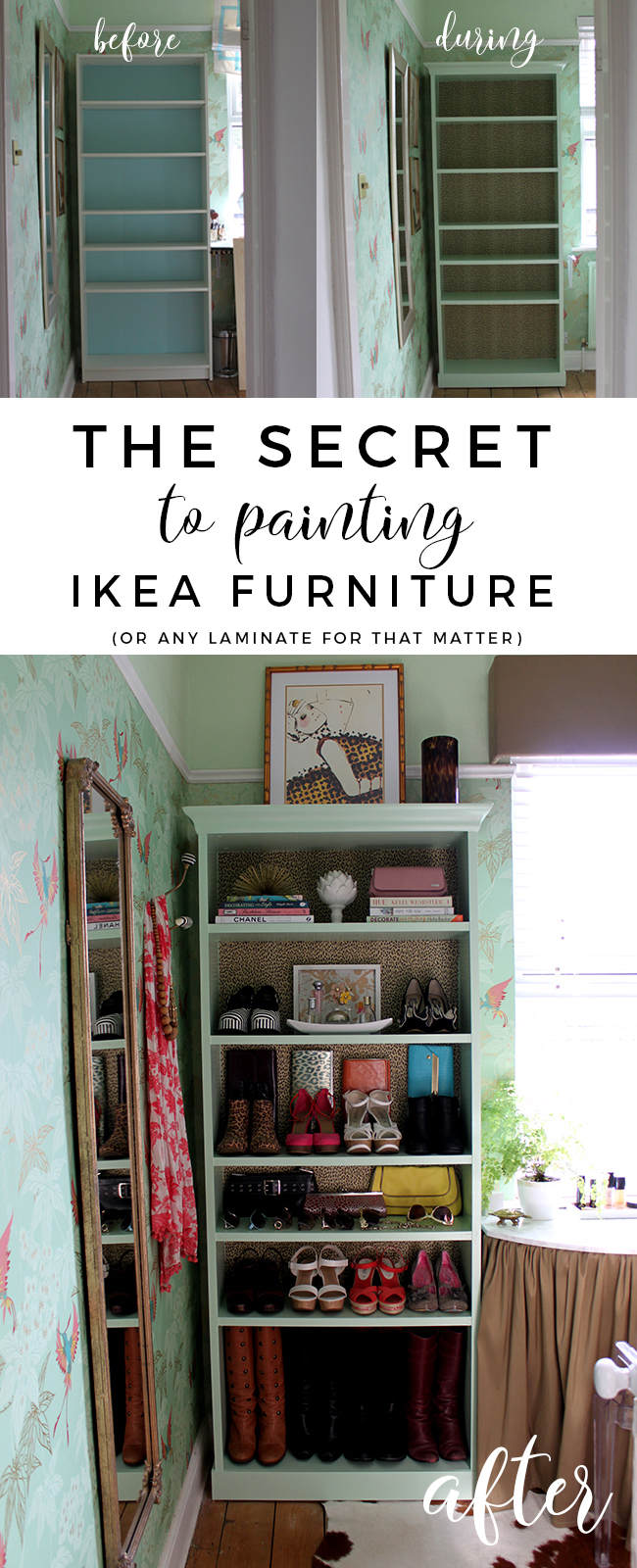 The Secret To Painting Ikea Furniture
