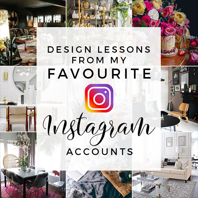 design lessons from my favourite instagram accounts