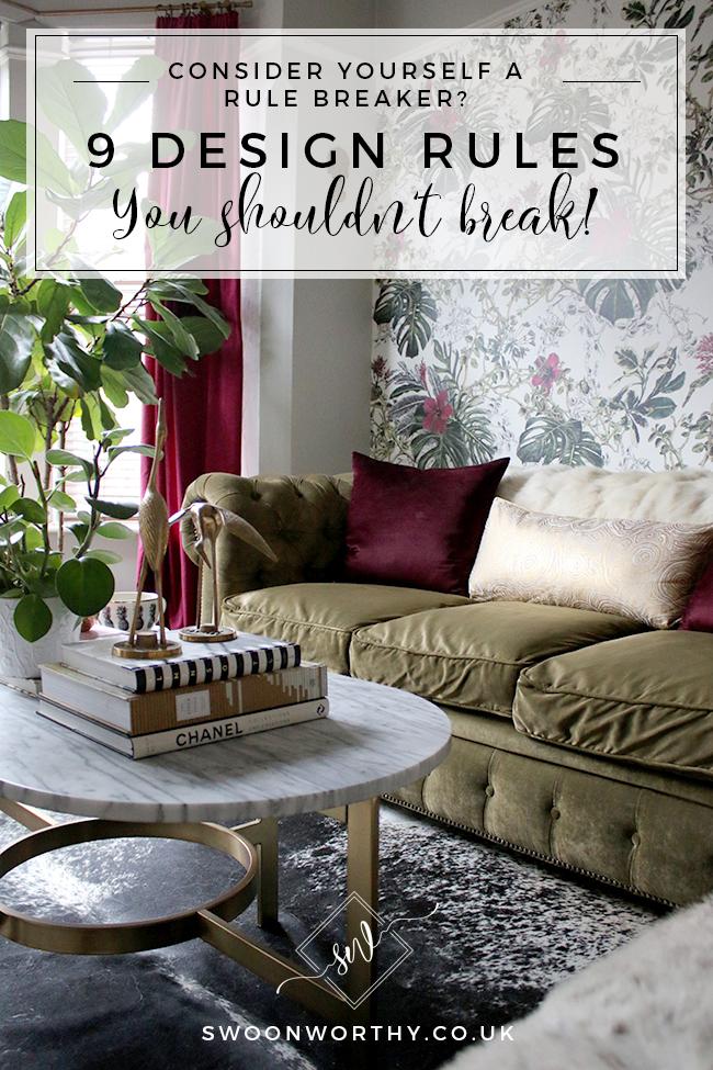 9 Design Rules You Should Never Break