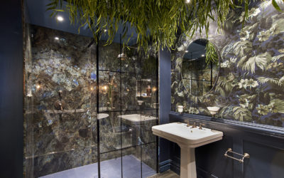 Bold Bohemian Bathrooms from House of Hackney and CP Hart