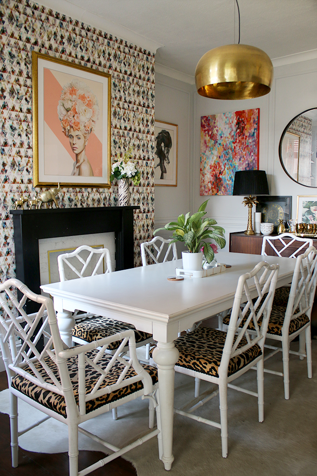 swoon worthy dining room eclectic boho glam