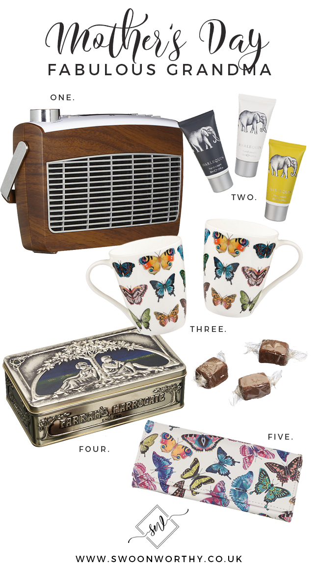 Grandmother Mother's Day Gift Buying Guide