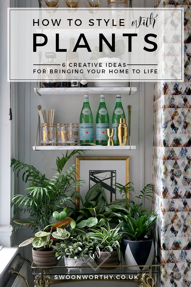 How to Style with Plants - 6 Creative Ideas for Bringing Your Home to Life