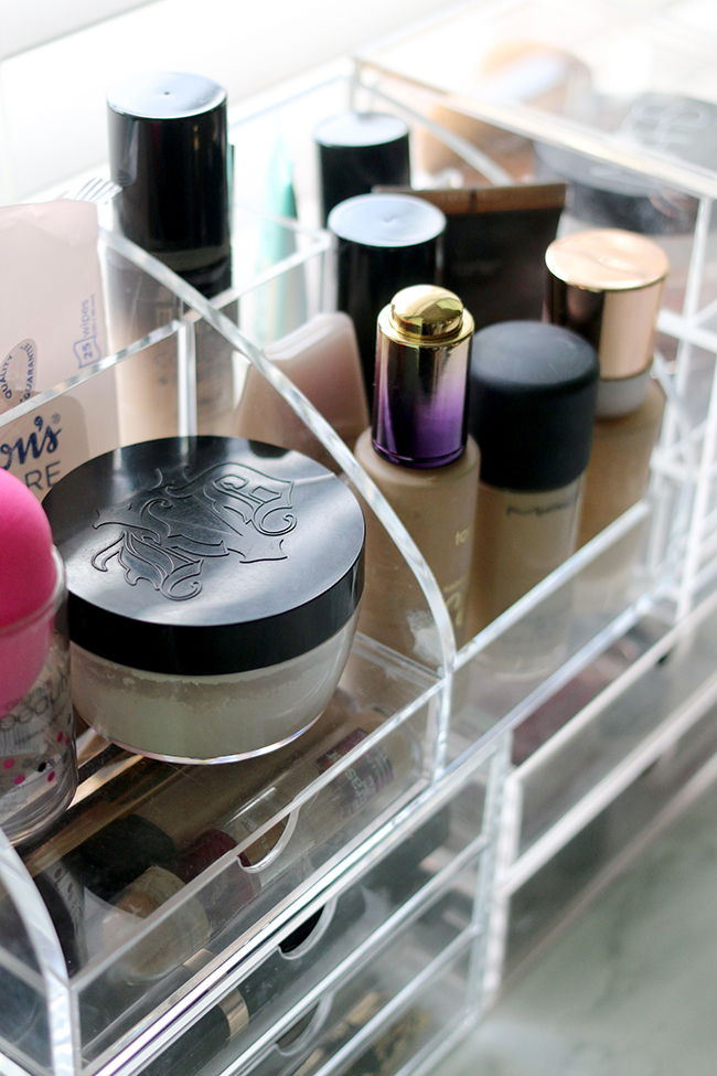 How to store your makeup even if you're a hoarder