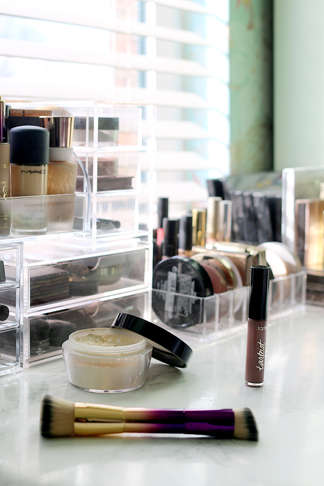 Storage for cosmetics and makeup - my top tips