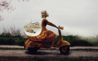 Golden Glam Moodboard with Kylli Sparre Art