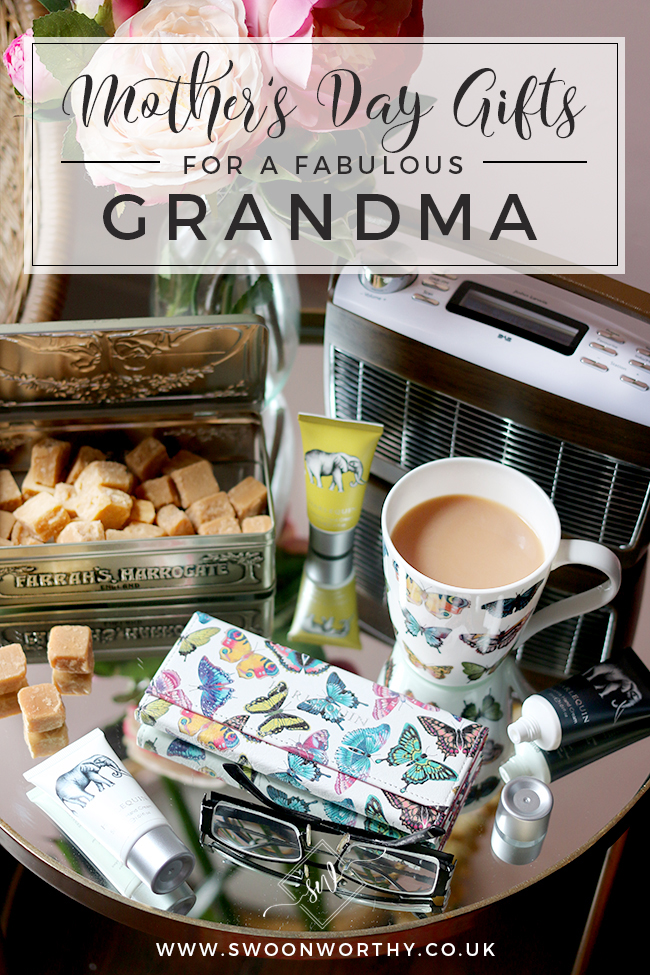 Mother's Day Time to Relax Grandmother Gift Collection - perfect gifts this Mother's Day from John Lewis