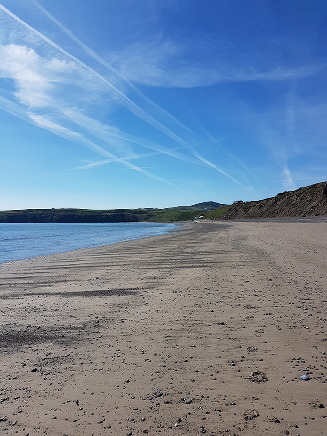 Aberdaron dog friendly beach