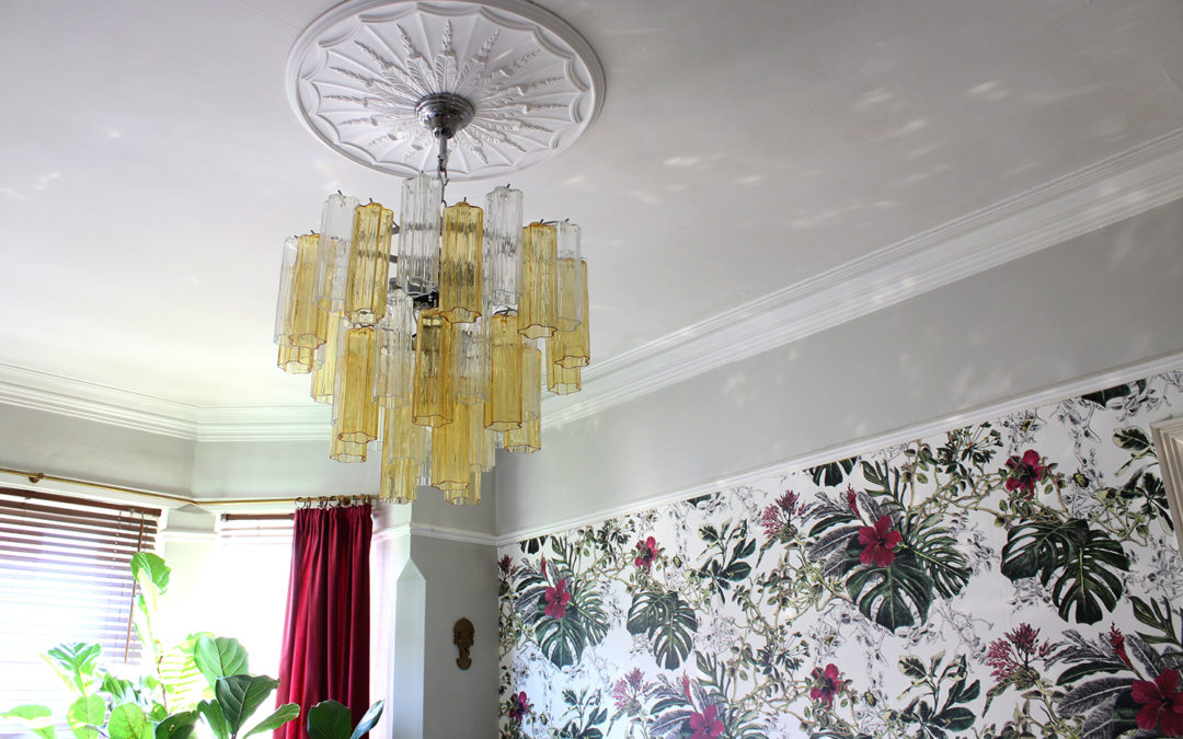 My Stunning Murano Glass Chandelier from Sogni Di Cristallo