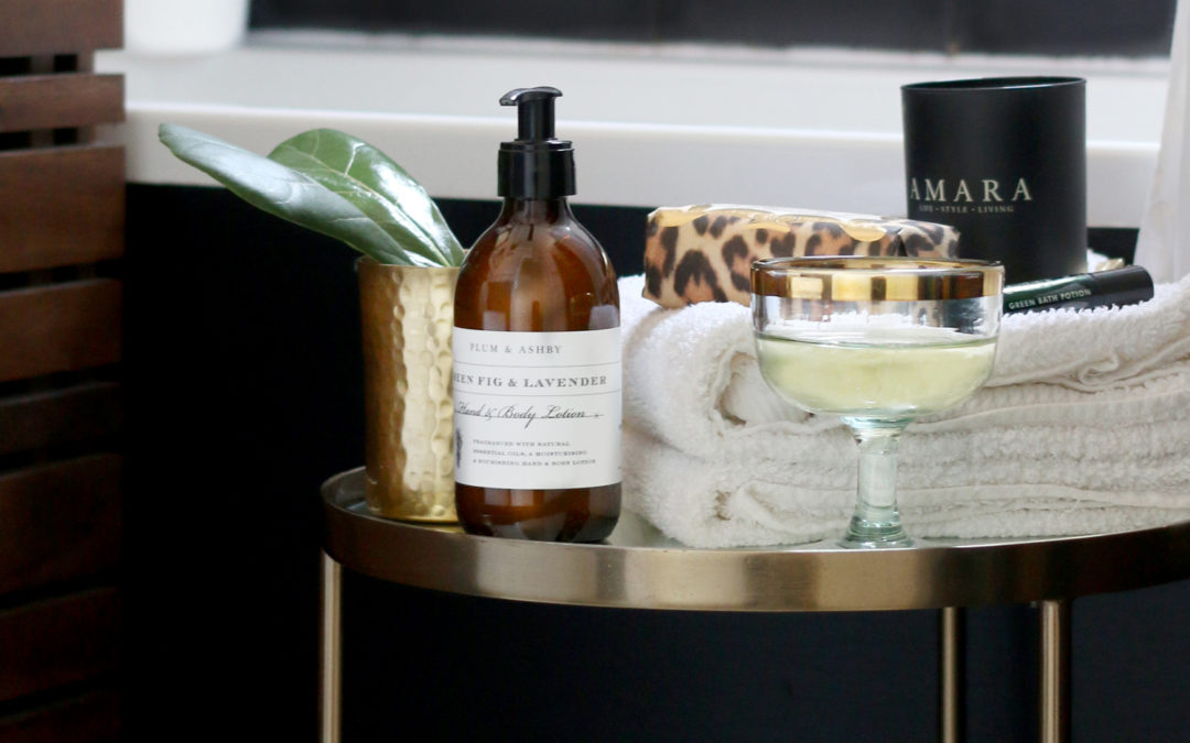 How to Style a Side Table 3 Different Ways