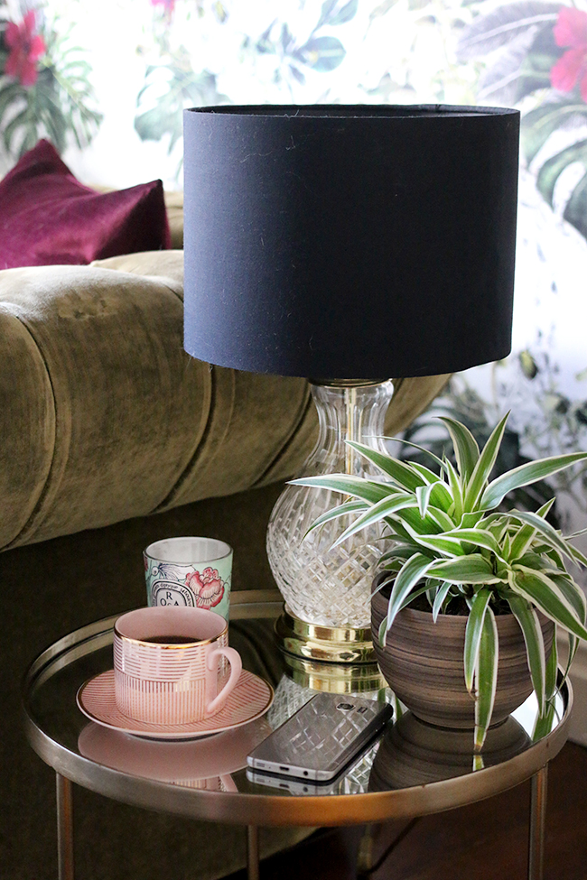 side table styling living room
