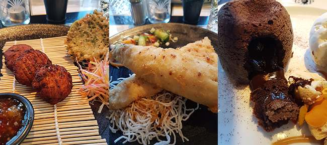 Grand Pacific Manchester food