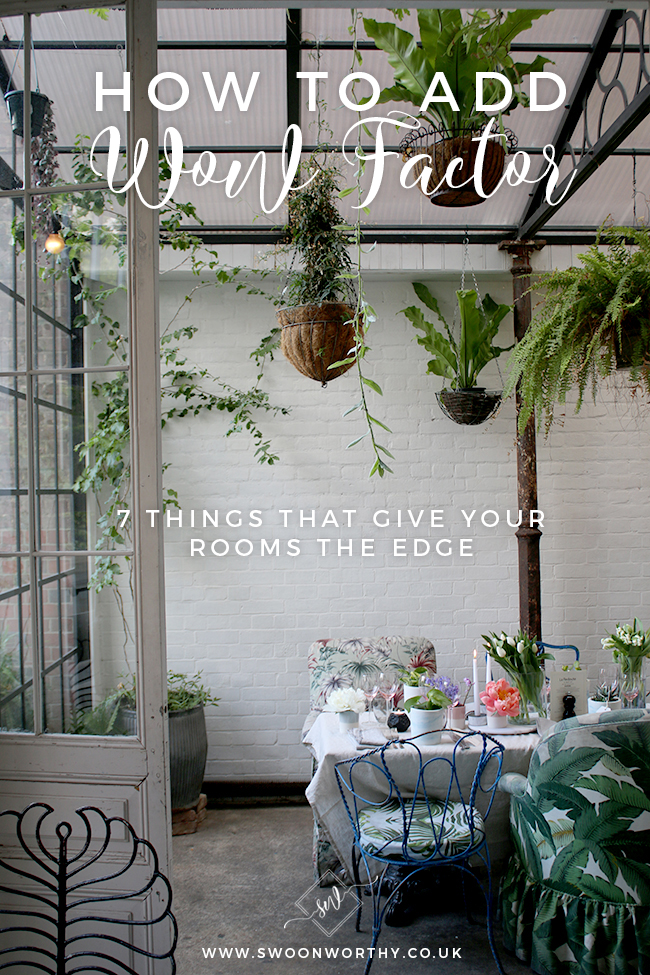 How to Add Wow Factor to Your Rooms