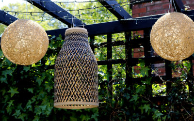 DIY Bamboo Solar Lights with a Boho Vibe!