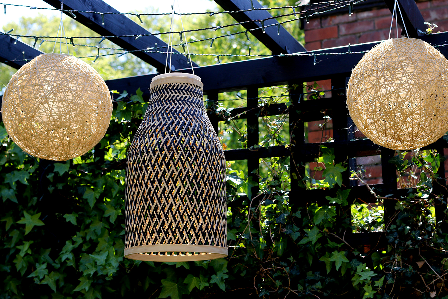 Diy Bamboo Solar Lights With A Boho Vibe Swoon Worthy
