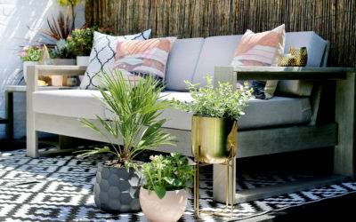 Getting the Look: Eclectic Boho Glam Garden Design
