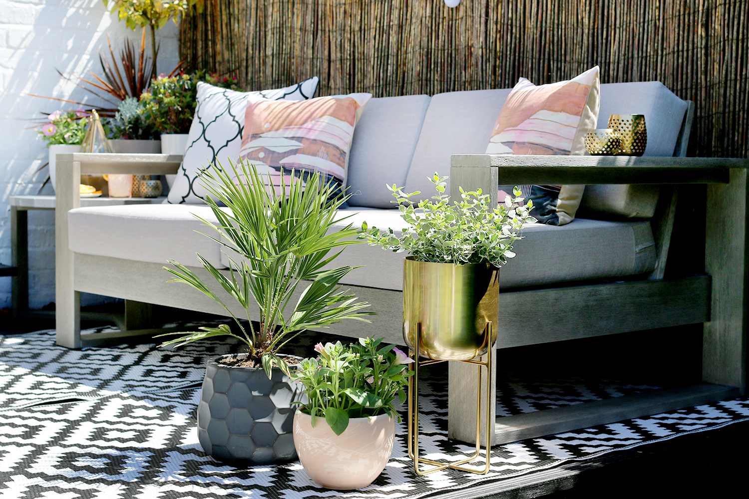 Getting the look eclectic boho glam garden design swoon for Garden design instagram
