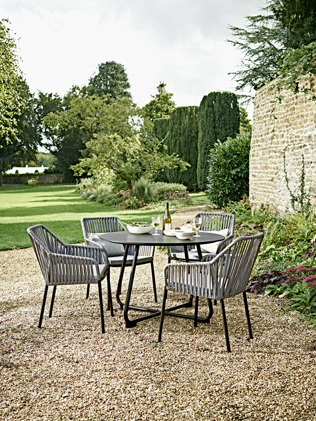Cox and Cox 4 seater garden dining set
