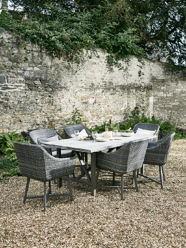Cox and Cox garden dining set