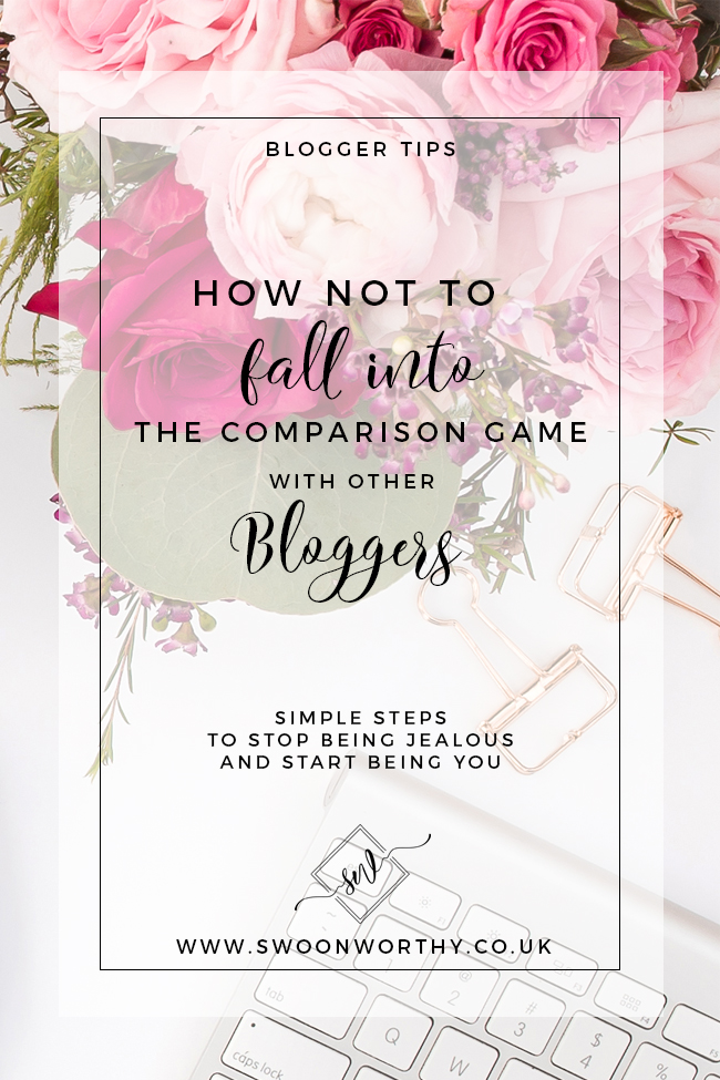 How Not to Get Caught Up in the Comparison Game as a Blogger