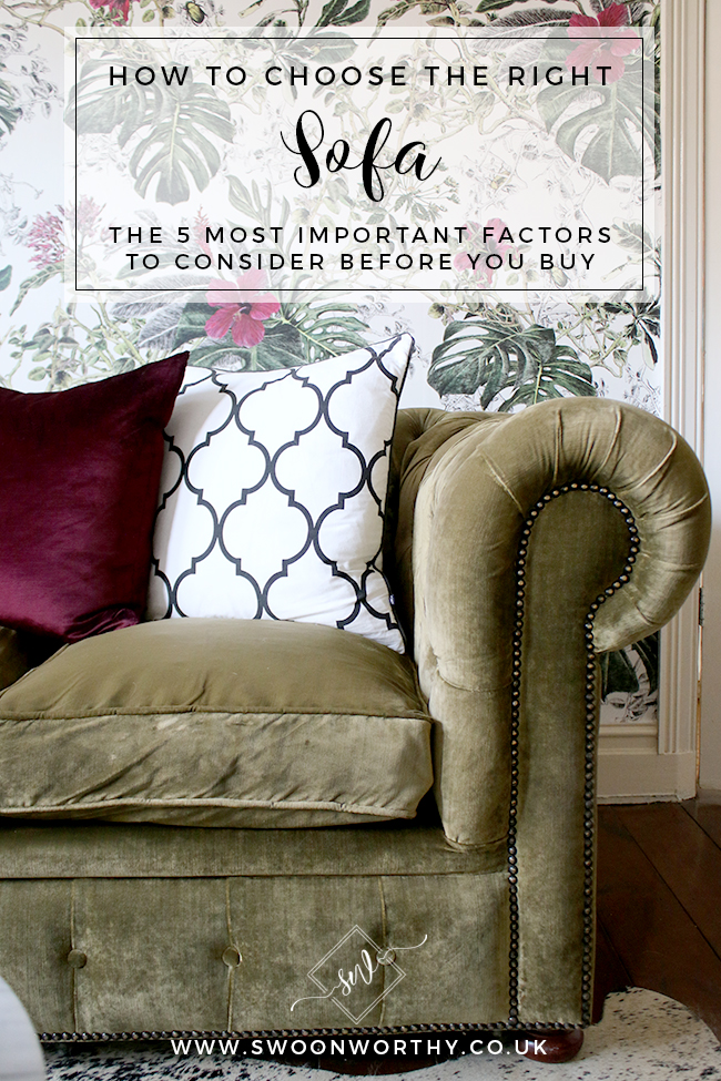 How to Choose the Right Sofa - 5 Things to Consider Before You Buy