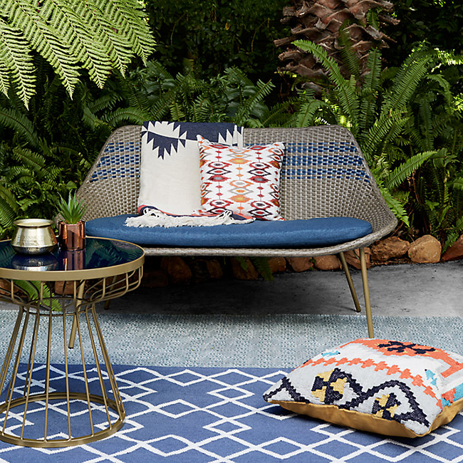 John Lewis outdoor sofa