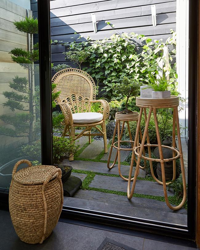 Le Redoute boho rattan garden furniture