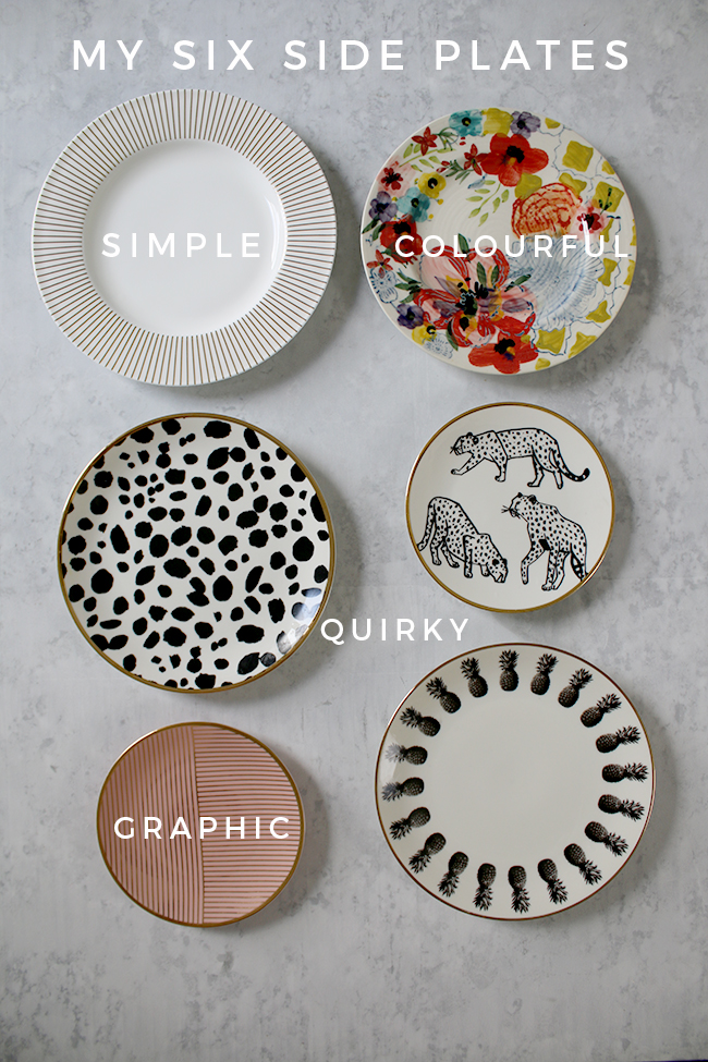 Mix and Match 6 Side Plates