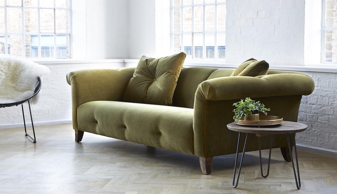 bedgbury_in_peridot_37_stain_resistant_velvet_2 darlings of chelsea velvet sofa in olive